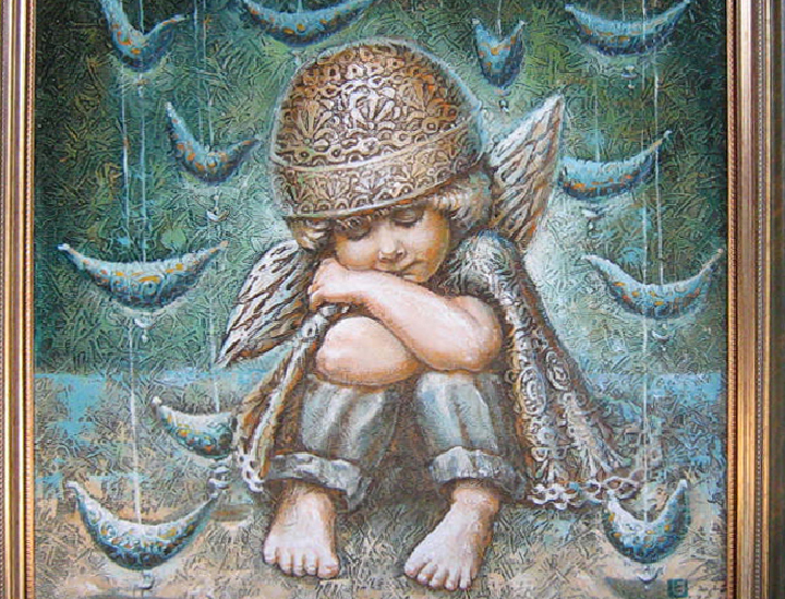 LITTLE ANGEL  2010 (50 x 50 cm)