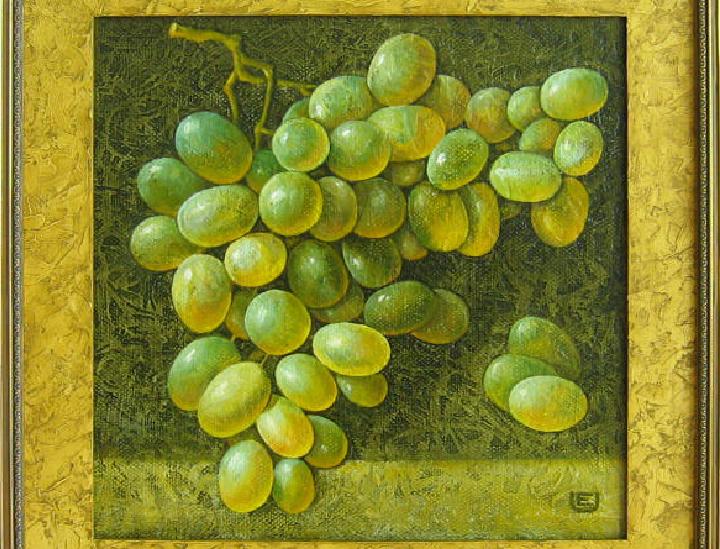 Grapes 2009 (40 x 40 cm)