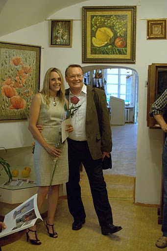 Eurika Urbonaviciute exhibition in Folk artists union gallery