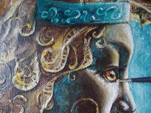 painting-zodiac-Lion