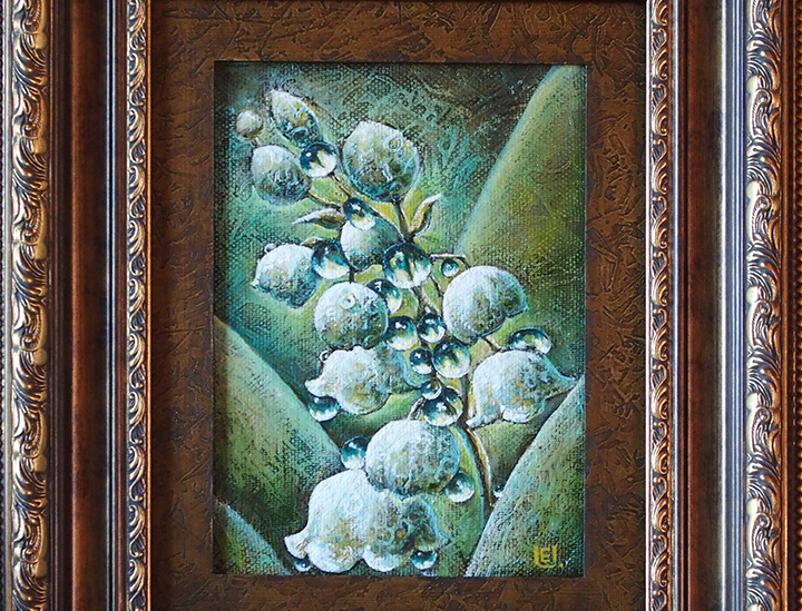 Lily of the Valley 28×20 cm