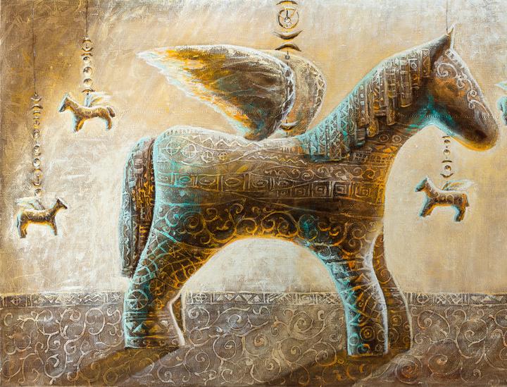 Little Pegasus 80 cm x 120 cm