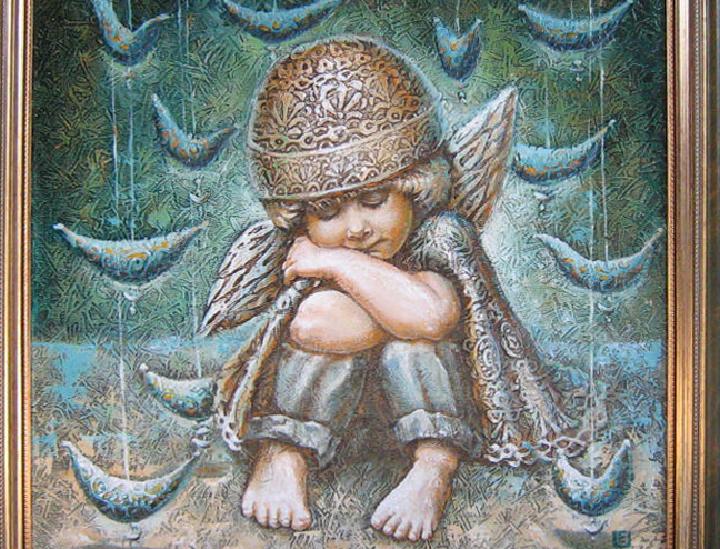 ANGELIUKAS 2010 (50 x 50 cm)