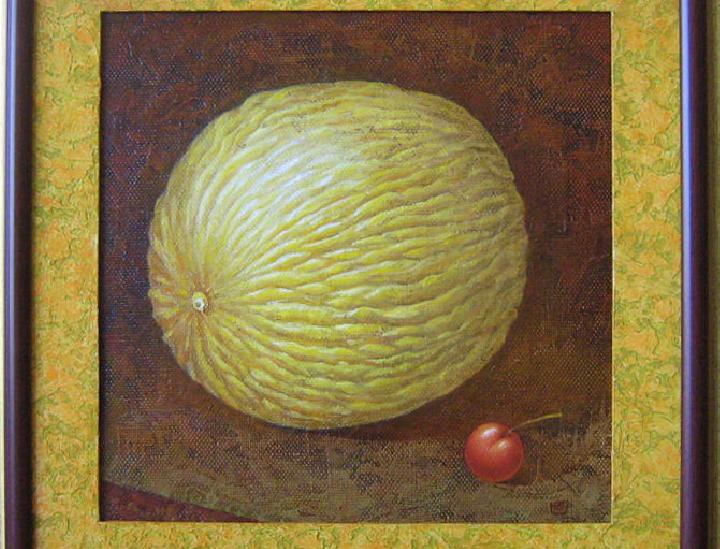 MELIONAS SU VYŠNIA 2009 (40 x 40 cm)