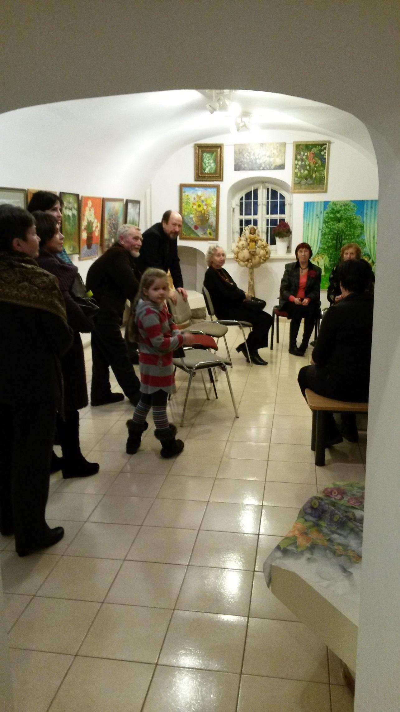 Tatodailininkų sąjungos paroda 2014 gruodžio 8d.
