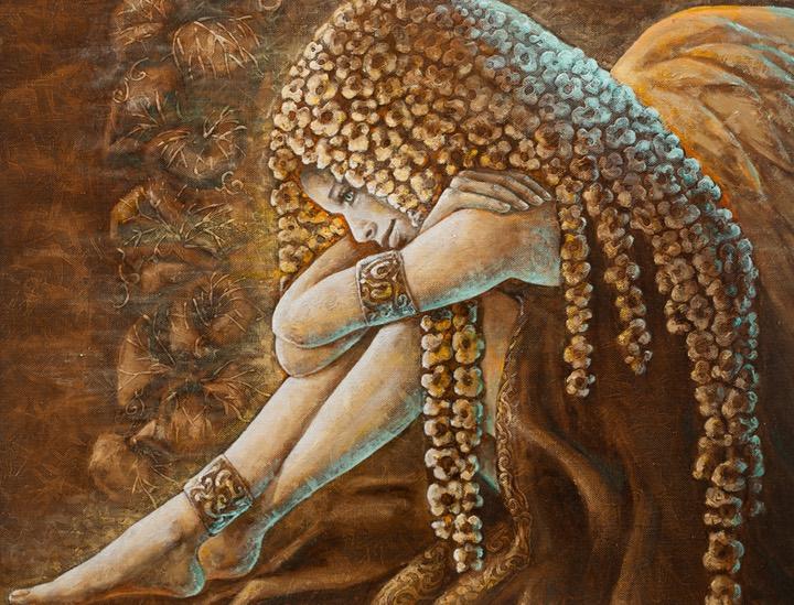 Vilties Angelas 100 cm x 93 cm