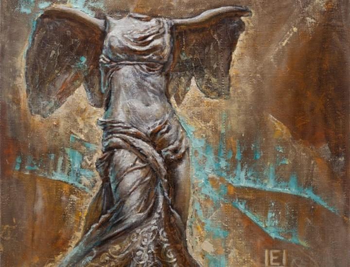 Tavo pergalės angelas 60 cm x 60 cm