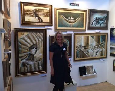Paroda – Parallax art fair Londone, Chelsea Town hall