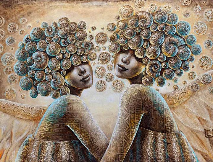 Santarvės angelai 100 x 150