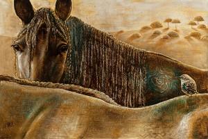 Dievų žirgai 100 x 150 -5022