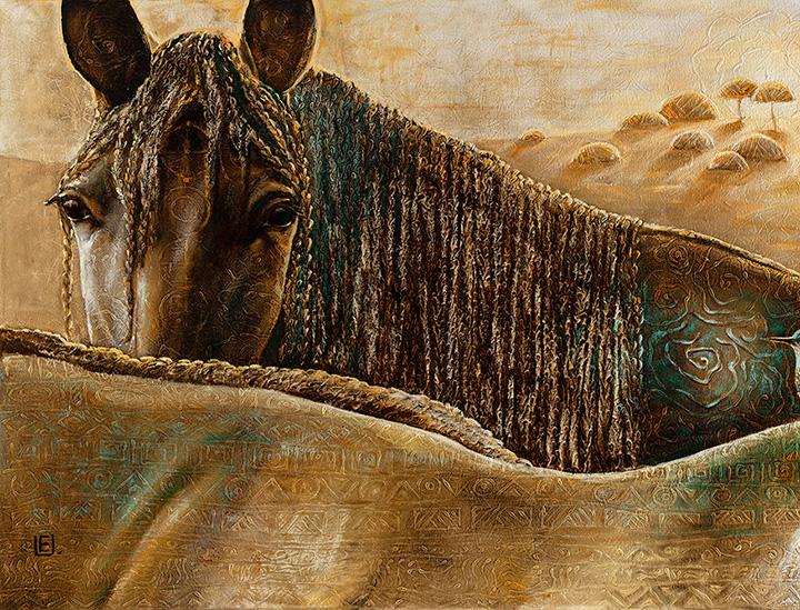 Dievų Žirgai 100 cm x 150 cm
